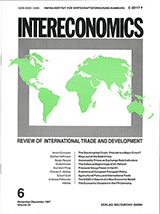 Intereconomics cover from the 1990s